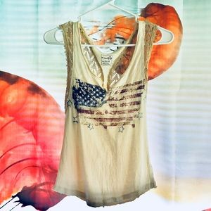 We the free lace tank